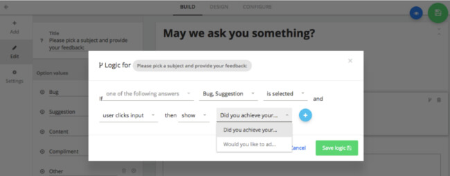 Mopinion: How to build the best online feedback forms - Routing