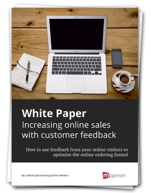 Mopinion White paper 2017 - Increase online sales