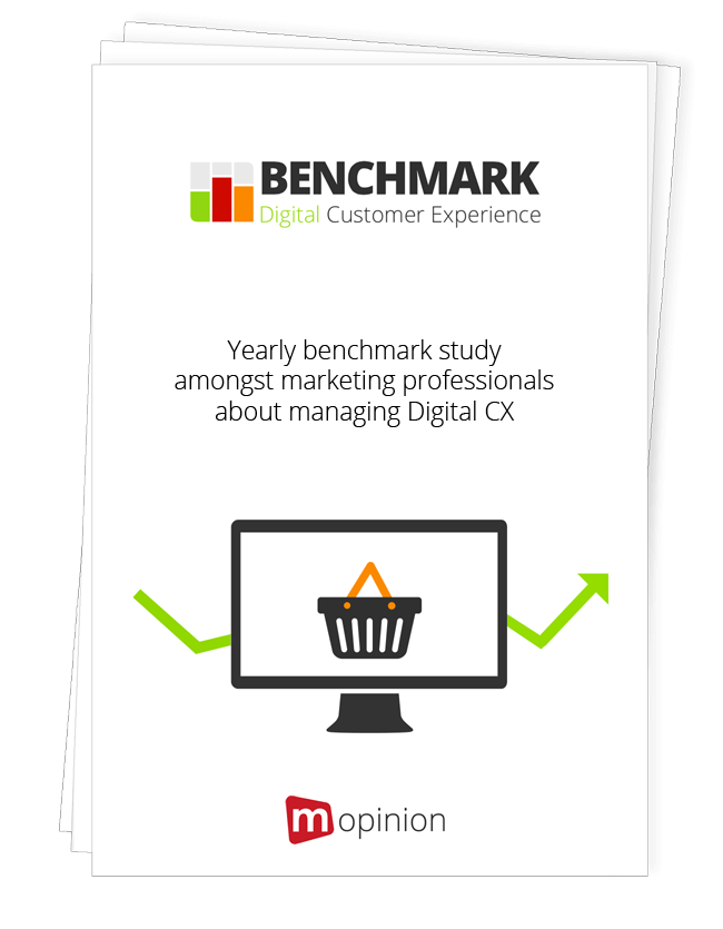Study –  Digital CX Benchmark Europe – 2015