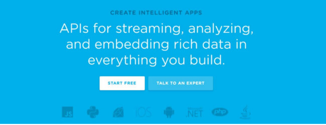 Keen - UX analytics and event tracking tools