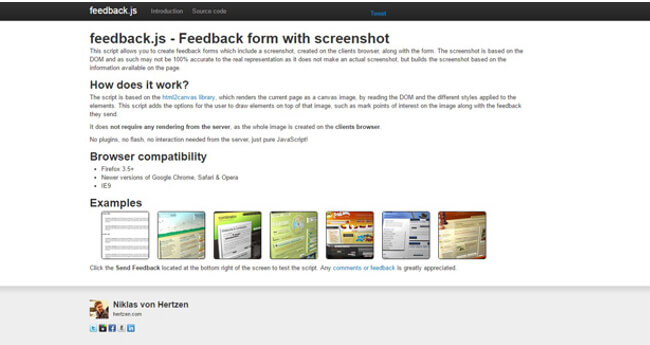 Mopinion: Top Visual Feedback Tools - Feedback.js