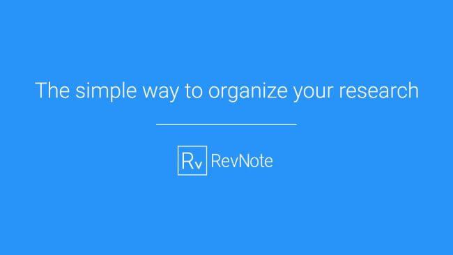 RevNote