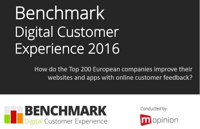 Mopinion: Top 10 Best Guides for Digital Customer Experience Experts - Digital Customer Experience Benchmark