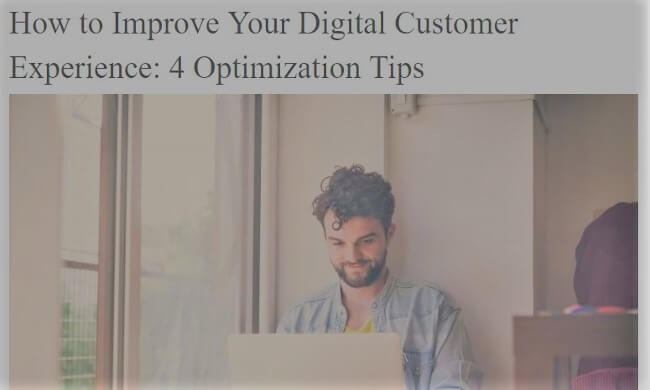 Mopinion: Top 10 Best Guides for Digital Customer Experience Experts - 4 Optimization Tips