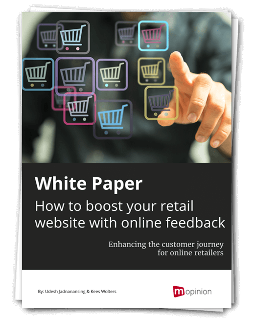 Mopinion White paper - How to boost your retail website with online feedback