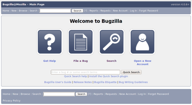 Mopinion: Top 17 Best Bug Tracking Tools: an overview - Bugzilla