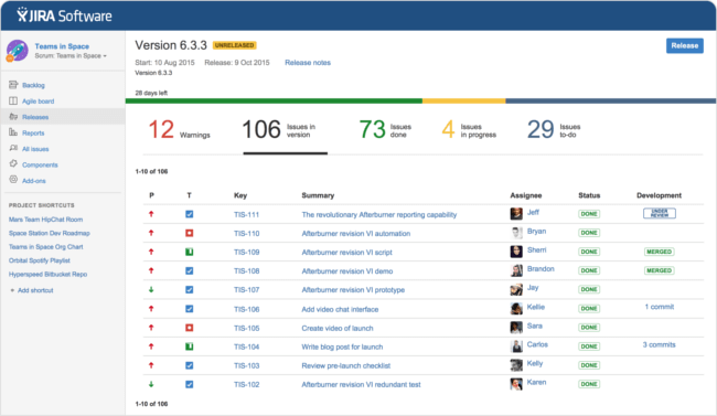 Mopinion: Top 17 Best Bug Tracking Tools: an overview - Jira