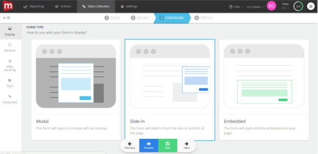 Mopinion: Mopinion introduces 'slide-in' feedback forms to its feedback software - CONFIGURE