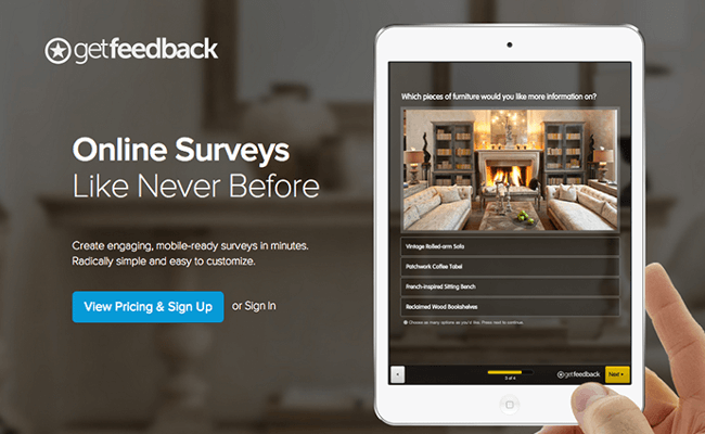 Mopinion: Top 21 Best Online Survey Software and Questionnaire Tools - GetFeedback