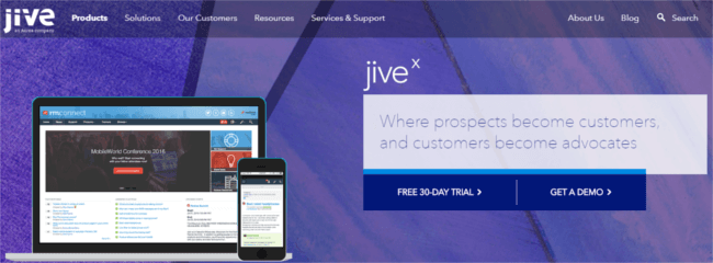 Mopinion: Top 17 Online Community and Social Business Software - Jive