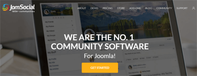 Mopinion: Top 23 Online Community and Social Business Software - JomSocial
