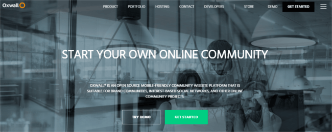 Mopinion: Top 23 Online Community and Social Business Software - Oxwall