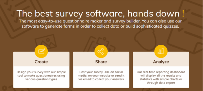 Mopinion: Top 21 Best Online Survey Software and Questionnaire Tools - SurveyNuts