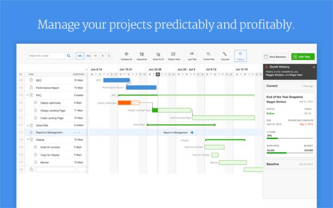 Mopinion: Top 20 Best Project Management Software: An Overview - Mavenlink