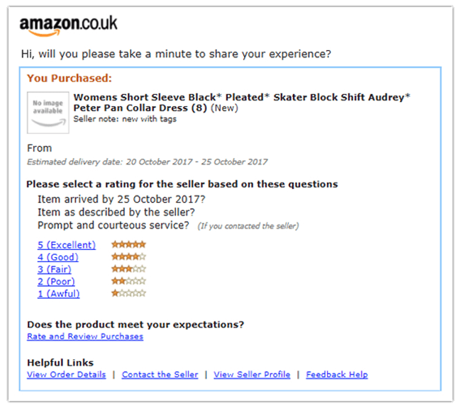 Mopinion: The Difference Between Online User Feedback and Online Reviews - Amazon example