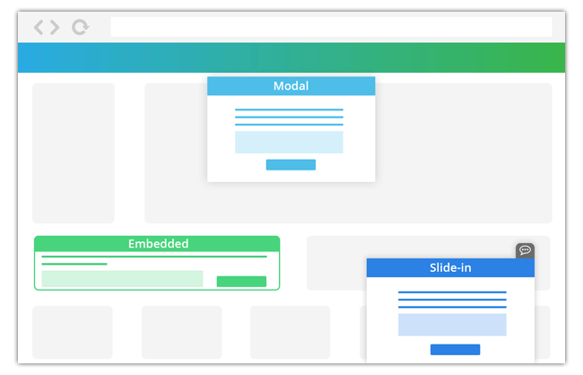 Mopinion: October Product Updates: featuring new onboarding flows - Form Types