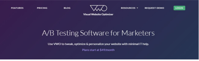 Mopinion: Top 23 Conversion Rate Optimisation Tools: An Overview - VWO