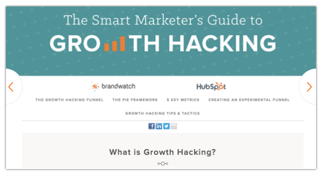 Mopinion: 10 Must-Read Guides for the Aspiring Growth Hacker - HubSpot Guide