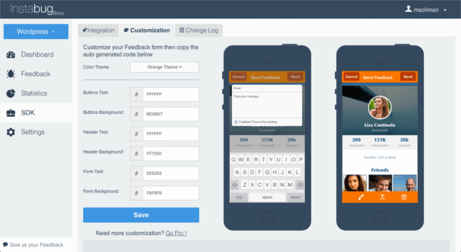 Mopinion: Top 11 Best Mobile In-App Feedback Tools: An Overview - Instabug