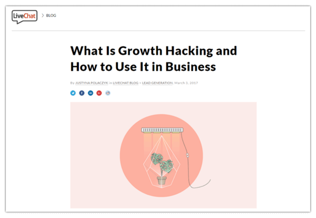 Mopinion: 10 Must-Read Guides for the Aspiring Growth Hacker - LiveChat Guide