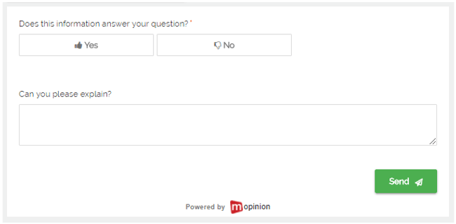 Mopinion: The Best Feedback Form Templates for Your Website - Content