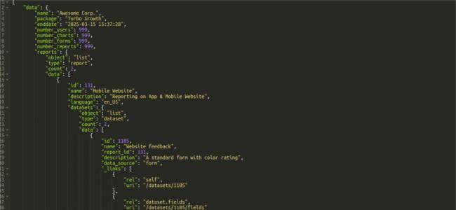 Mopinion: 3 Ways to Collect In-App Feedback: Webviews, SDKs & APIs - API sample