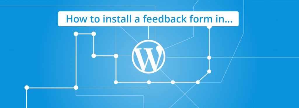 Mopinion: How to install a feedback form in Wordpress - Cover Image