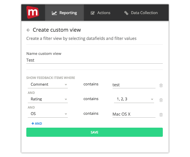 Mopinion: Mopinion launches customisable inbox filters and views - Multiple filters at once