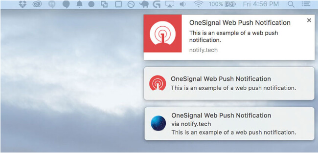 Mopinion: 10 Tools With In-App & Web Notifications - OneSignal