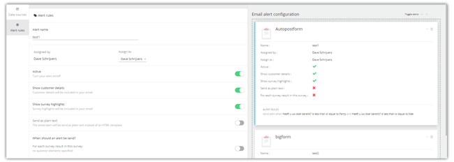 Mopinion: April Product Updates: featuring URL parameters and auto post forms - Email Alerts