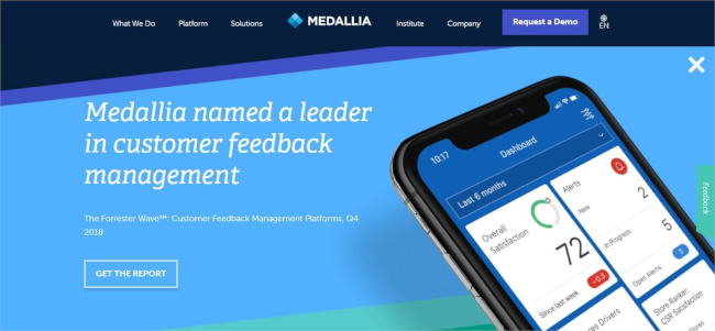 Mopinion: Top 10 Qualaroo Alternatives and Competitors - Medallia