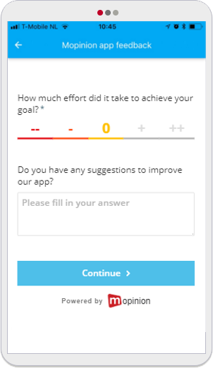 Mopinion: 5 Easy-To-Use Mobile App Feedback Form Templates -CES