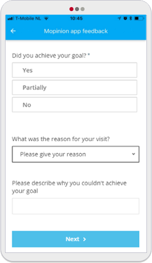Mopinion: 5 Easy-To-Use Mobile App Feedback Form Templates - GCR
