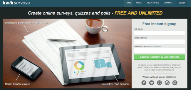 Mopinion: How to Create Free Online Surveys - KwikSurveys