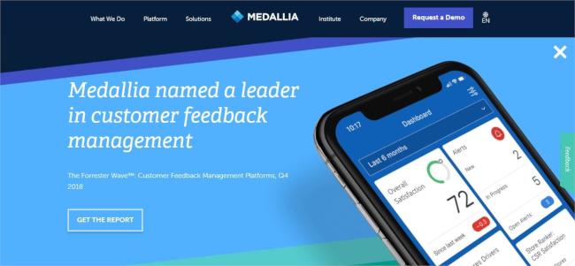 Mopinion:Top 10 Competitors and Alternatives to Usabilla - Medallia