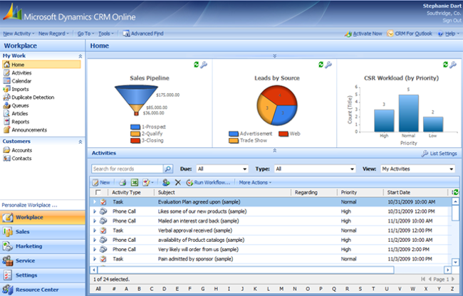 Mopinion: Top 15 Best Enterprise CRM Software - Microsoft Dynamics