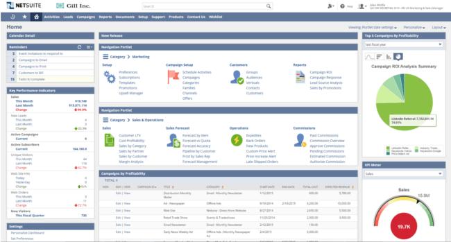 Mopinion: Top 15 Best Enterprise CRM Software - NetSuite CRM
