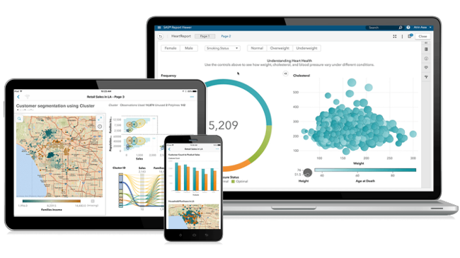 Mopinion: Top 15 Business Intelligence Tools - SAS