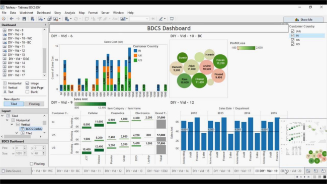 Mopinion: Top 15 Business Intelligence Tools - Tableau