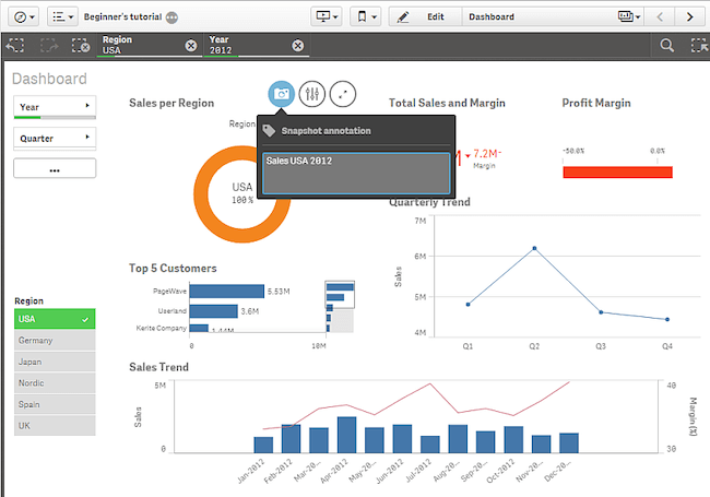 Top 15 Business Intelligence Tools: An Overview - QlikSense