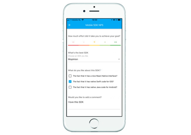 Mopinion: September Product Update - In-App Feedback Form