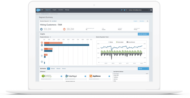 Mopinion: Top 10 Data Management Platforms: An overview - Salesforce DMP