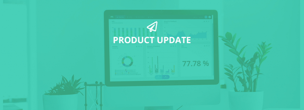 Mopinion: November Product Update: introducing new metrics to monitor your feedback forms - Cover Image