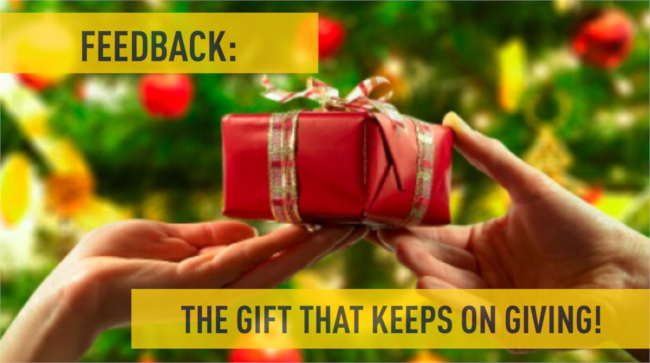 Mopinion: 'Tis the Season For Customer Feedback, Here's Why... - Gift that keeps giving
