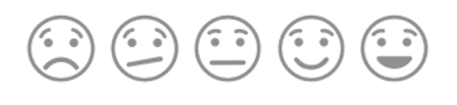 Mopinion: What is a Customer Feedback Metric?	- Smileys