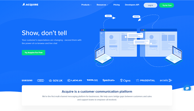 Mopinion: Top 20 Customer Service Software - Acquire