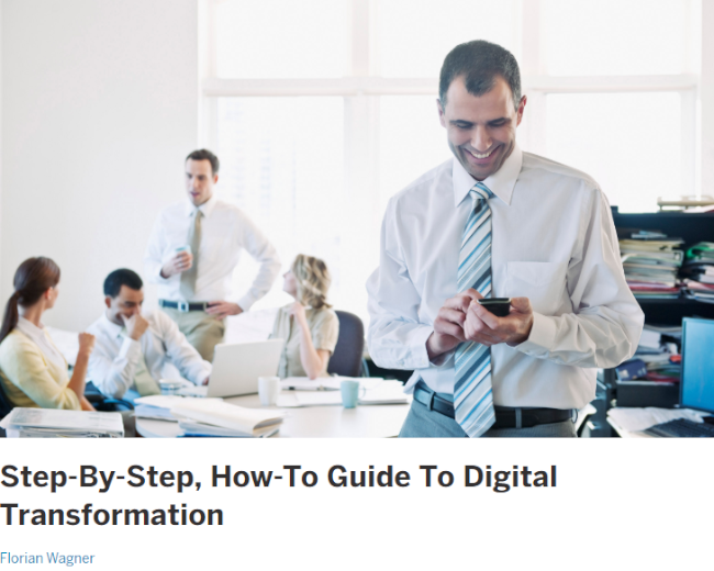 Mopinion: 10 Must-Read Guides to Digital Transformation - Digitalist Mag Guide