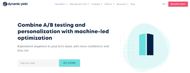 Mopinion: Top 20 A/B testing Tools that will boost conversions - Dynamic Yield