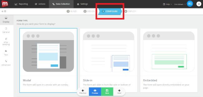 Mopinion: Push customer feedback results directly to Google Analytics - Configure
