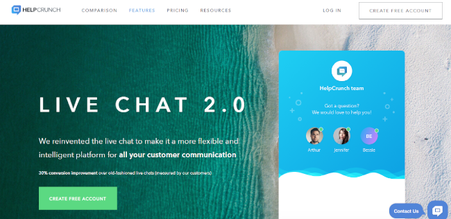 Mopinion: Top 20 Live Chat Software: An Overview - HelpCrunch